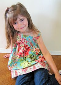 Shirred dress or top tutorial with fitted armpits