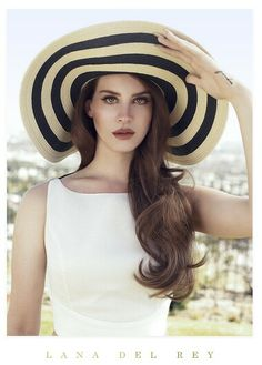 Lana Del Rey #LDR love her style and I would totally wear this.