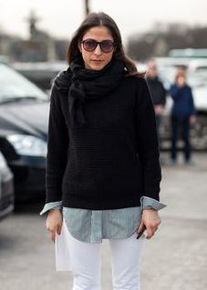 Paris Street Style: French Women Dont Wear Trackies.