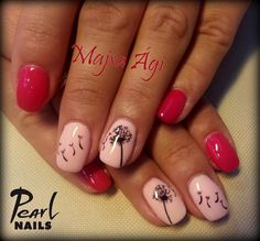 Felhasznált anyagok /Nails made with: PearLac NiteLite NL 7, FL 4 gél lakk (gellac). #pearlnails #pearlac #géllakk #gellac #naildesign #salonnails #squarenails #nailstagram #műköröm #körmök