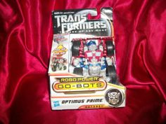 Transformers Dark of The Moon Robo Power Go Bots Optimus Prime Autobot NIP   eBay