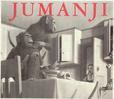 Jumanji - Who needs the movie when Chris van Allsburg's almost-too-real illustrations pretty much leap off the page?