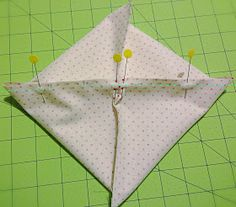 lovely little handmades: cathedral windows pillow tutorial