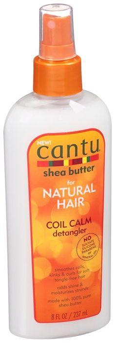 Cantu® Shea Butter for Natural Hair Coil Calm Detangler 8 fl. oz. Bottle