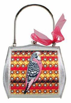 Helen Rochfort  Helen Rochfort Handbag BUDGIE LOVE - limited edition