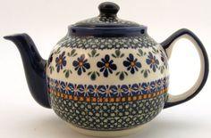 Boleslawiec Polish Pottery Large Teapot