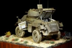 Humber Armored Car Mk IV 1/35 Scale Model