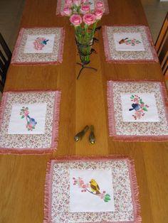 Birds and Blossom Set 1 Large - Aljay Designs   OregonPatchWorks