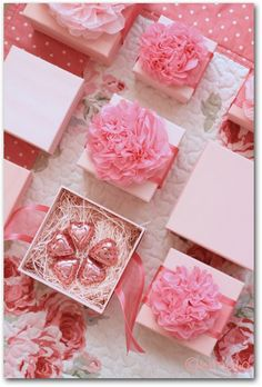 Simple, pretty and inexpensive Valentine gift.