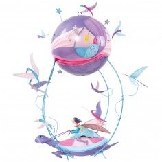 Decorative mobile Turtle - The boat flies 63.00