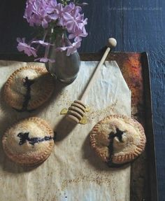 Blueberry, Goat Cheese, and Rosemary Hand Pies