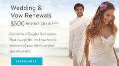 $500 Resort Credits in Jamaica for Weddings & Vow Renewals - https://traveloni.com/vacation-deals/500-resort-credits-jamaica-weddings-vow-renewals/ #destinationwedding #jamaica #jamaicawedding