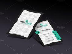 Design studio modern business card by LnD Creative on @creativemarket