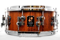 Sonor One of a Kind Snare Drum 14x6.25 Red Tigerwood over Beech Available for purchase here! http://www.drumcenternh.com/sonor-one-of-a-kind-snare-drum-red-tigerwood-over-beech-shell-14x6-25.html