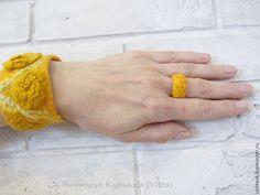 #felt_ring,#feltjewelry,Кольцо валяное Звездные россыпи - валяное кольцо, войлочное кольцо, валяное украшение Felted Cuff Felted Bracelet FELTED RING FELTED JEWELRY войлочный браслет войлочное кольцо