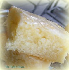 Lemon Brownies - Try to sub out ingredients to make THM friendly!
