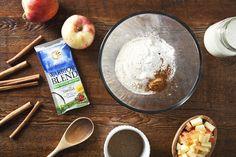 Sunwarrior Vegan Protein + A Recipe for Apple Cinnamon Vegan Protein Pancakes | picklesnhoney.com