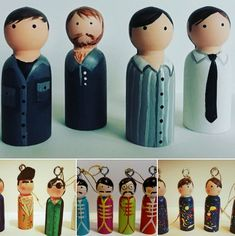 Check out these wonderful handmade rock and indie Christmas decorations by Florence and Belle. And yes, that is Joy Division in the first image. Joy Division, Florence, Vintage Christmas, Indie, To Go, Christmas Decorations, Rock, Cool Stuff, Retro