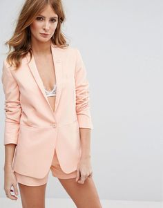 Buy Hot Pink Millie mackintosh Blazer for woman at best price. Compare Jackets prices from online stores like Asos - Wossel United States Blazers For Women, Suits For Women, Jackets For Women, Latest Fashion Clothes, Fashion Outfits, Fashion Online, Millie Mackintosh, Asos, Pink Suit