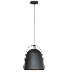 Haleigh Wire Dome Pendant in Oil Rubbed Bronze by Rejuvenation Classic Baths, Floor Fans, Porch Accessories, Reupholster Furniture, Drapery Rods, Shop Lighting, Lighting Ideas, Unique Wall Decor, Ceiling Medallions