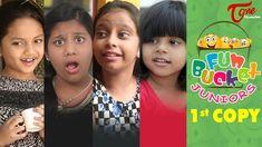 nice Fun Bucket JUNIORS | Episode 1 | Kids Funny Videos | TeluguOne | Comedy Web Series