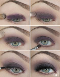 I have these colors. Not only is purple my favorite color, it also looks best for my eye makeup.