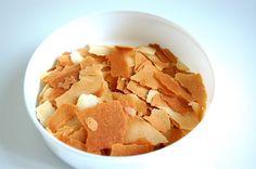 PAILLETÉ FEUILLETINE (HOMEMADE) - adds crispiness to desserts