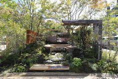 """Mode of Garden"" by Konishi Noriaki of Japan image: Huis Ten Bosch"