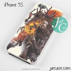 Geralt handling monster Phone case for iPhone 4/4s/5/5c/5s/6/6 plus