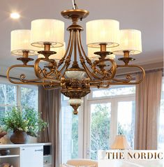 Antique Yet Modern Look – Wrought Iron Chandeliers Hanging Lamps, Hanging Lights, Home Furnishing Stores, Home Furnishings, Wrought Iron Chandeliers, Types Of Colours, Pendant Lamp, Simply Beautiful, Living Spaces