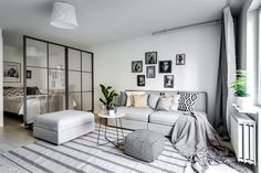 Séparer le coin chambre dans un studio avec une verrière amovible - PLANETE DECO a homes world