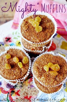 'Mighty' Muffins via Nutritionist in the Kitch