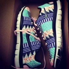 Running shoes. These are almost too cute to run in..