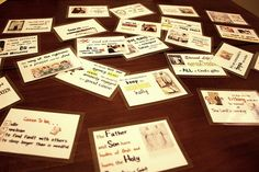 Scripture cards for kids and other scripture memorizing resources