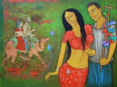 Mithu Basu: Fire your imagination daily with global art by awesome artists of Dolna. Click for more information on artist Hitendra Singh Bhati and details of his works