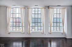 Burano Lofts and Condos-832 Bay St #211 | Rare, one-of-a-kind 1033 sf 2 bedroom in original part of the building with 7 ft high arched warehouse windows, 10 ft high ceilings, and large angled east window wall. 1 Parking & 1 Locker included. | More info here: torontolofts.ca/burano-lofts-and-condos-lofts-for-sale/832-bay-st-211 High Ceilings, Window Wall, Condos, Lofts, Windows And Doors, Warehouse, Lockers, The Originals, Bedroom