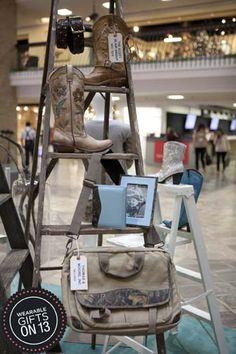 Mixing merchandise display #wearablegifts #displays