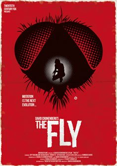 The Fly (Red Collection) Art Print by Alain Bossuyt $18.00