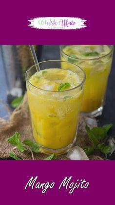 Spicy Recipes, Cooking Recipes, Margarita Bebidas, Summer Drink Recipes, Cocktail Recipes, Mango Mojito, Indian Dessert Recipes, Vegetarian Snacks, Healthy Juices