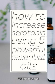 How to Increase Serotonin with Essential Oils Superfood Sanctuary Heal throu Neroli Essential Oil, Doterra Essential Oils, Essential Oil Diffuser, Essential Oil Blends, Essential Oils For Depression, Essential Oils For Headaches, Young Living Oils, Young Living Essential Oils, Superfood