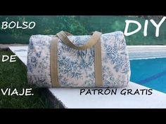 Bolso de viaje: DIY - Patronesmujer - pattern & tutorial