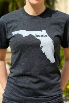 YOU CAN GET A T-SHIRT WITH ANY OF THE STATES, NOT JUST FLORIDA AND A PORTION OF THE PROCEEDS GOES TO MULTIPLE SCLEROSIS RESEARCH.