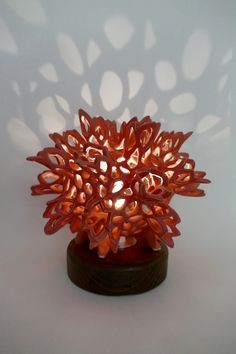 Amazing lamp by Nicole Reyes and Quigley Ceramics!!
