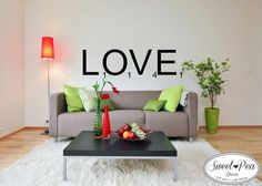 Love Sticker (SWP003) by Sweet Pea Decor