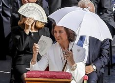 Queen Sofia of Spain attended Mother Teresa's Canonization Mass celebrated by Pope Francis in St. Peter's Square on September 4, 2016 in Vatican City, Vatican
