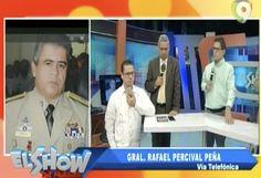 Primicia Nacional. Percival Peña hace llamada telefónica al Show del Mediodía y envía mensaje a su hijo