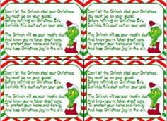 Grinch Day on Pinterest   Grinch, The Grinch and The Grinch Stole ...