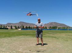 One of Dr. Oehler's favorite hobbies is flying his helicopter!