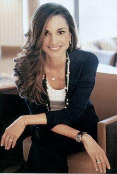 Queen Rania of Jordan - middle eastern royalty
