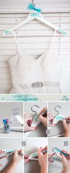 Full tutorial at Something Turquoise.